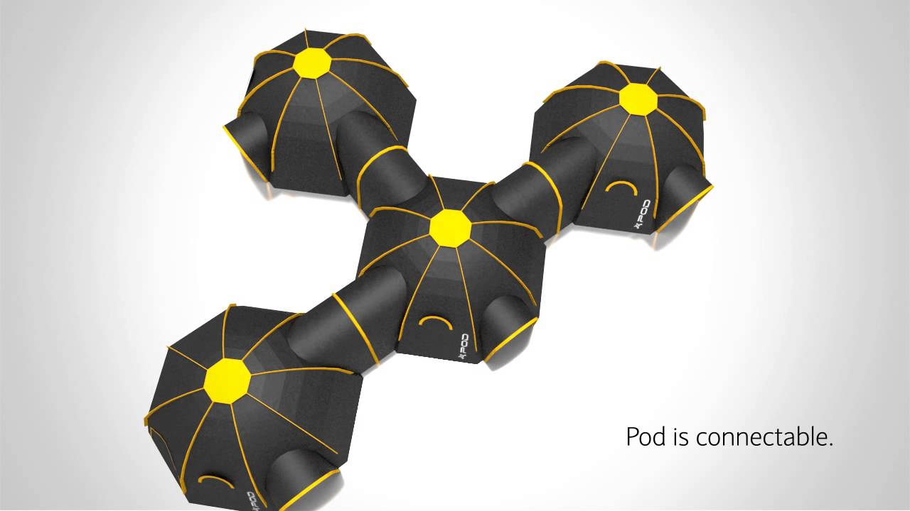 POD Tents 2014 Range - POD Maxi - POD Mini -Modular C&ing system - YouTube : interconnecting tents - memphite.com