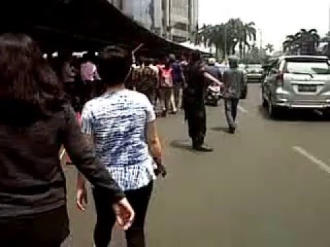evakuasi Bursa Efek Jakarta