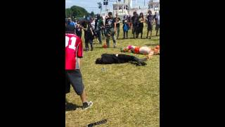 Wrestling the Ultimate Warrior at Download 2015