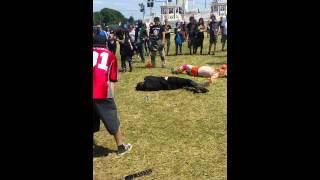 Wrestling the Ultimate Warrior at Download 2015