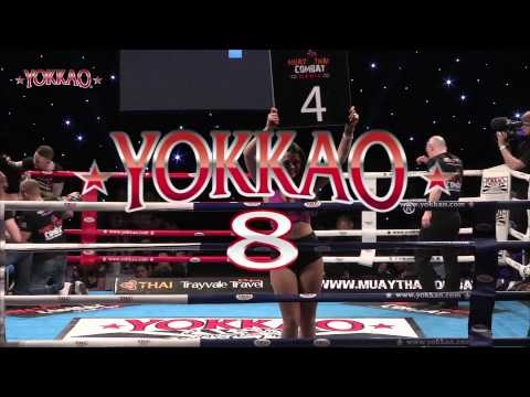 YOKKAO 8: Liam Harrison vs Houcine Bennoui - TOTAL MUAY THAI ACTION