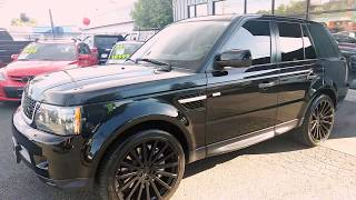 2010 LANDROVER RANGE ROVER SPORT SUPER CHARGED LOADED LOADED!!
