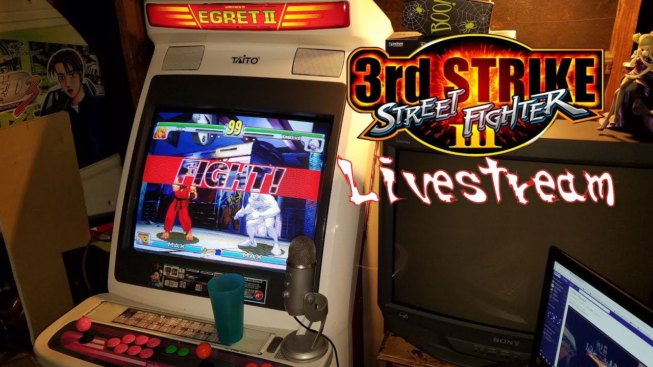 Street Fighter III: Third Strike Livestream N' Chat - YouTube
