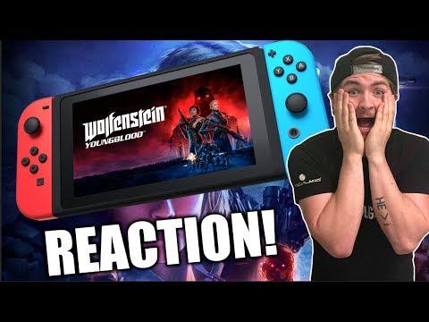 WOLFENSTEIN YOUNG BLOOD REACTION! - Nintendo Enthusiast