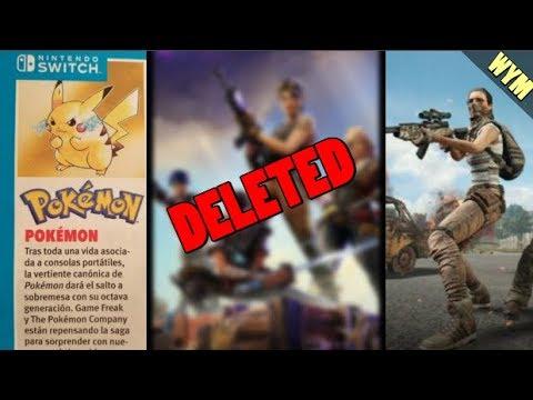 Pokemon Switch Code Named Beluga, New PUBG TDM, YouTuber in Trouble OVER Fortnite Clickbait