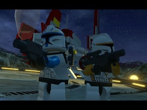 LEGO Star Wars III: The Clone Wars Walkthrough - Part 12 - Rookies