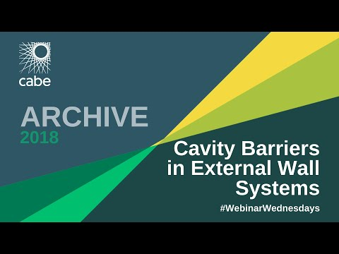 WEBINAR: Cavity Barriers in External Wall Systems