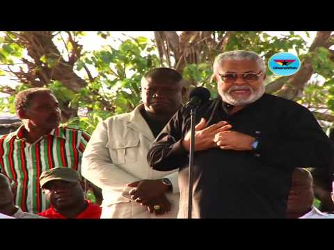 JJ Rawlings' full speech at NDC 25th Anniversary rally at Ashaiman