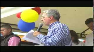 Siga en vivo al expresidente Álvaro Uribe Vélez desde Bello - Antioquia