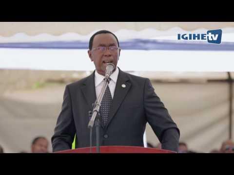 #Kwibuka23: Perezida wa Sena Bernard Makuza yasoje icyumweru cyahari kwibuka Jenoside (Full Speech)
