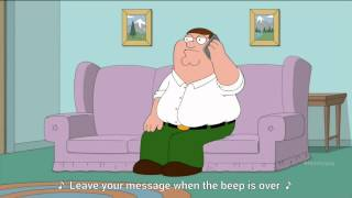 Family Guy - Creative voice mail message / Joe Is on a Vacation