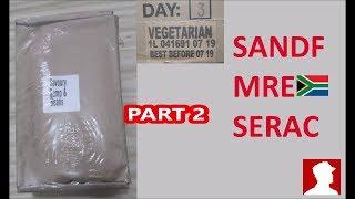 South African Ration Review: SANDF 24H MRE Menu 3 Part 2 of 2