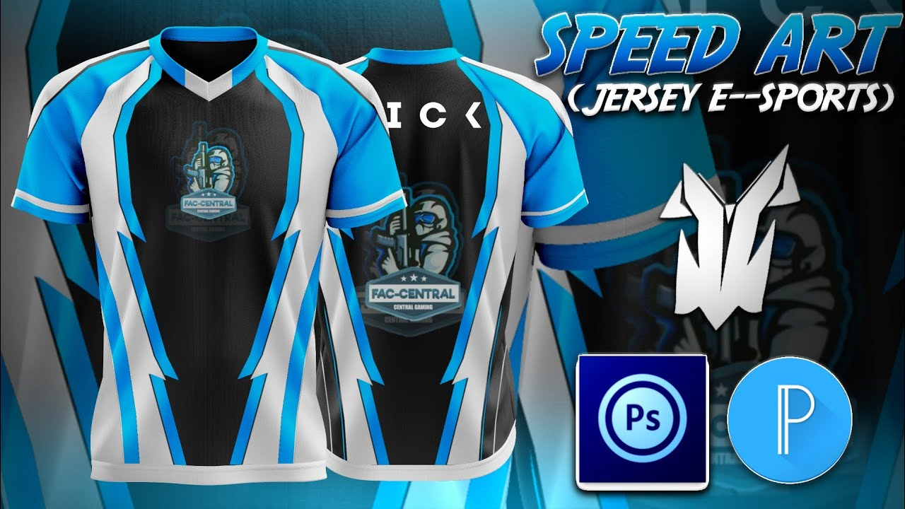 SPEED ART JERSEY E--SPORTS PARA @FAC CENTRAL (PEDIDOS ON) ADRIANO DESIGN - PS TOUCH