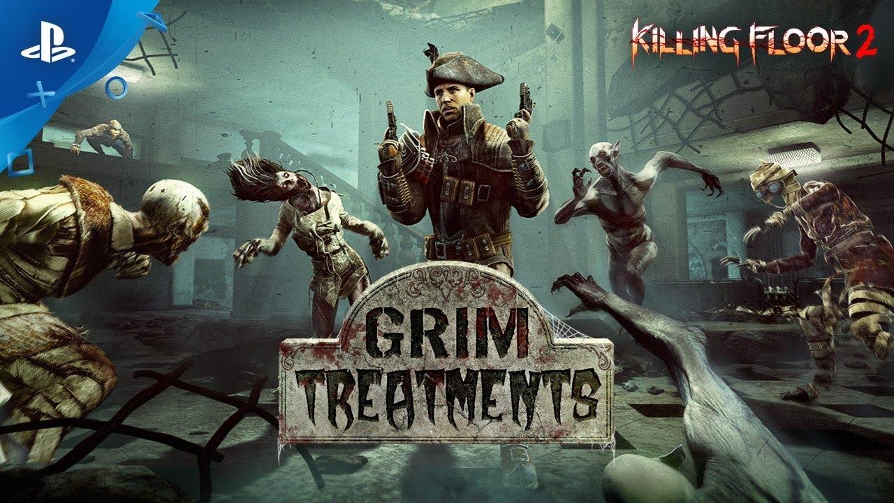 Killing Floor 2 Grim Treatments Trailer Ps4 Youtube