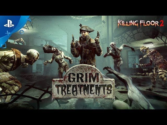 Killing Floor 2 - Grim Treatments Trailer | PS4