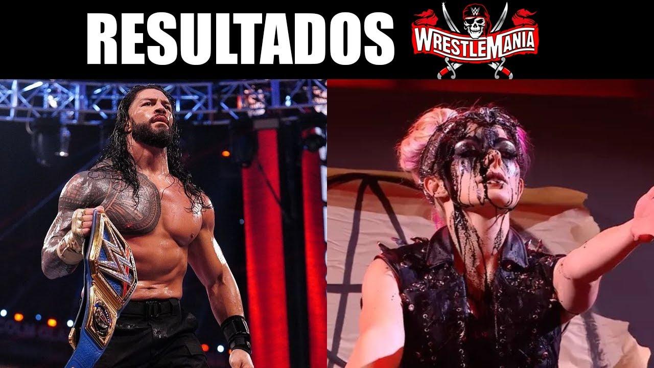 RESULTADOS WWE WRESTLEMANIA 37 (NOCHE 2)