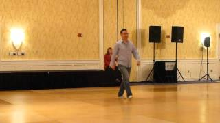 Ez Bomp Line Dance by John Robinson Demo @ Showdown 2016