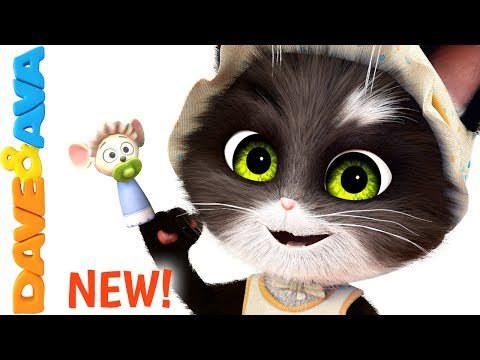 Thumbnail: 😺 Finger Family Song for Toddlers | Nursery Rhymes and Children's Songs from Dave and Ava 😺