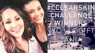 Meet CClearSkin Challenge Winner Tania + Our NYC Trip!