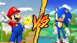Super Mario VS Sonic - Battaglia Rap Epica - Manuel Aski