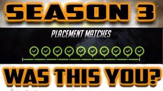 I WON ALL 10 OVERWATCH PLACEMENT MATCHES!
