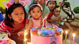 Selamat Ulang Tahun Bayi Lucu Zivana ke 1 Kue Ulang Tahun My Little Pony Ft Hana Callista