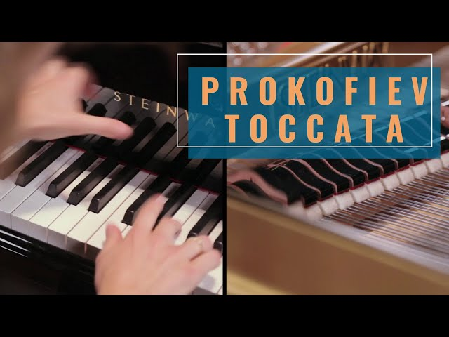 Prokofiev Toccata: Cordelia Williams (piano on adrenaline)