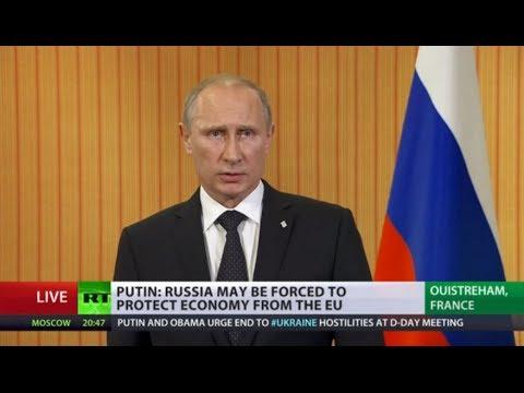 Putin Q&A in Full: 'I'll back Poroshenko's 'positive thinking' on settling Ukraine crisis'