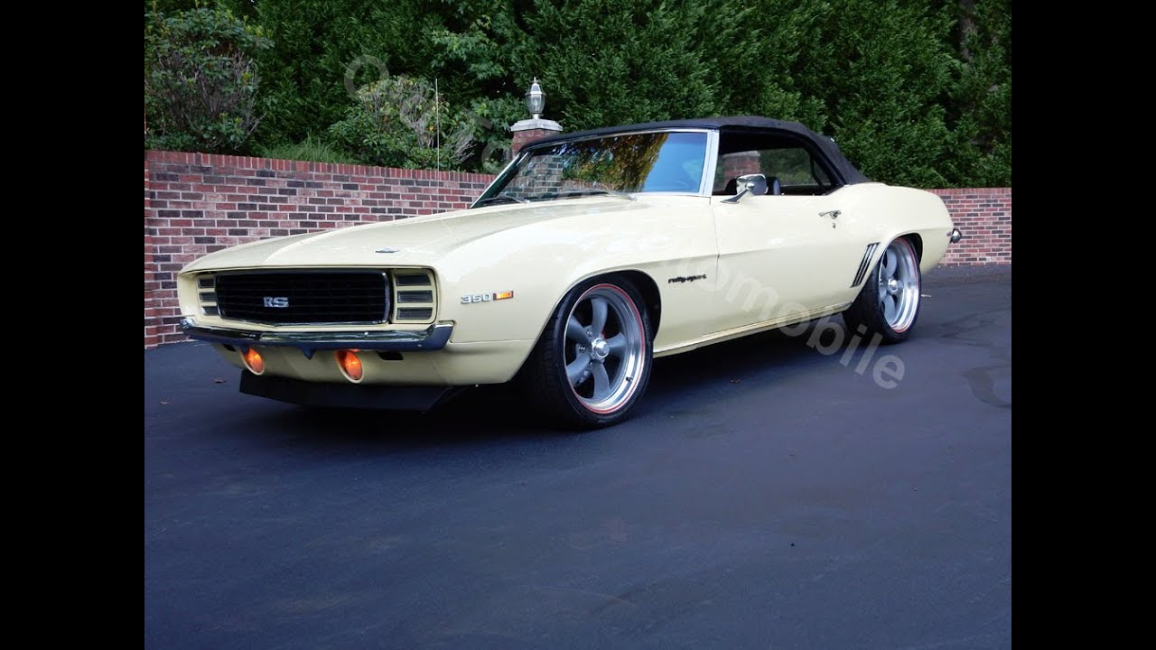 1969 Camaro RS Convertible, butternut yellow, for sale Old Town ...