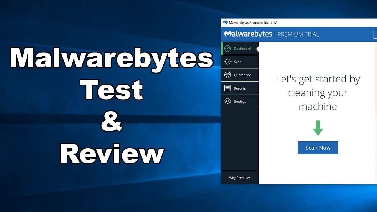 Malwarebytes Test & Review 2019 - Computer Security Review