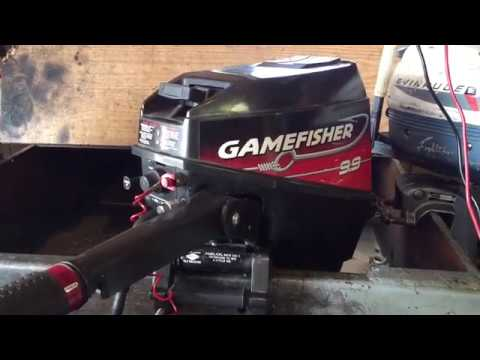 1995 Gamefisher /Force 9.9hp Outboard Motor