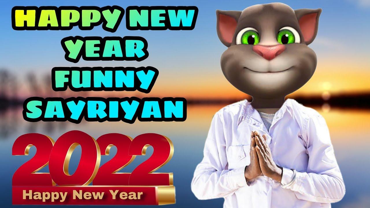 Happy New Year 2020 Funny Wishes Shayari | Talking Tom ...