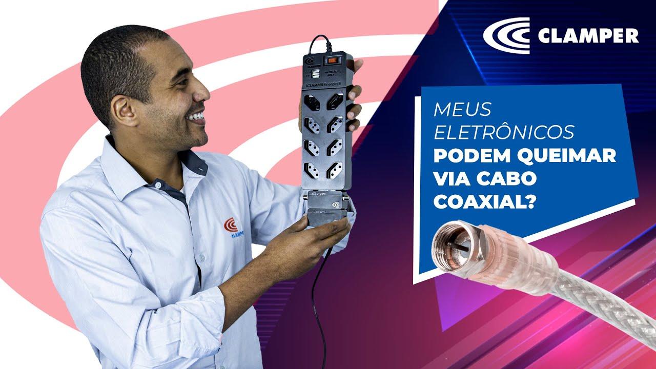 Meus eletrônicos podem queimar via CABO COAXIAL (Cabo de antena de TV)? 🤔