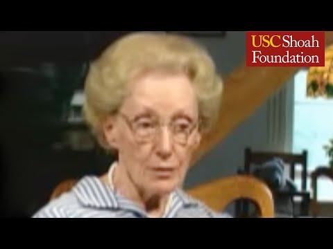 Holocaust Rescuer Marion Pritchard on propaganda