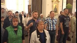 Смотреть видео Вестник Православия (Санкт-Петербург). Софийский собор в Пушкине, выставка Вячеслава Забелина онлайн