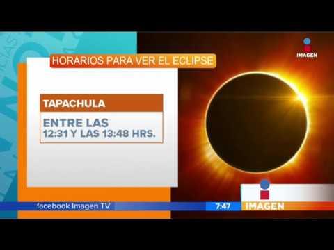 ¿A qué hora ver el eclipse en México? | Noticias con Francisco Zea