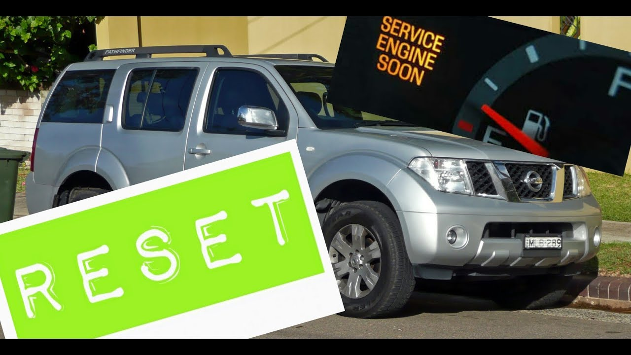 How to reset Service Engine soon Light on a 2010 Nissan Pathfinder
