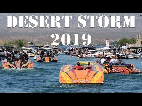 2019 DESERT STORM LAKE HAVASU POKER RUN