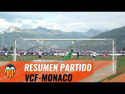 RESUMEN DEL AS MONACO - VALENCIA CF (1-0)