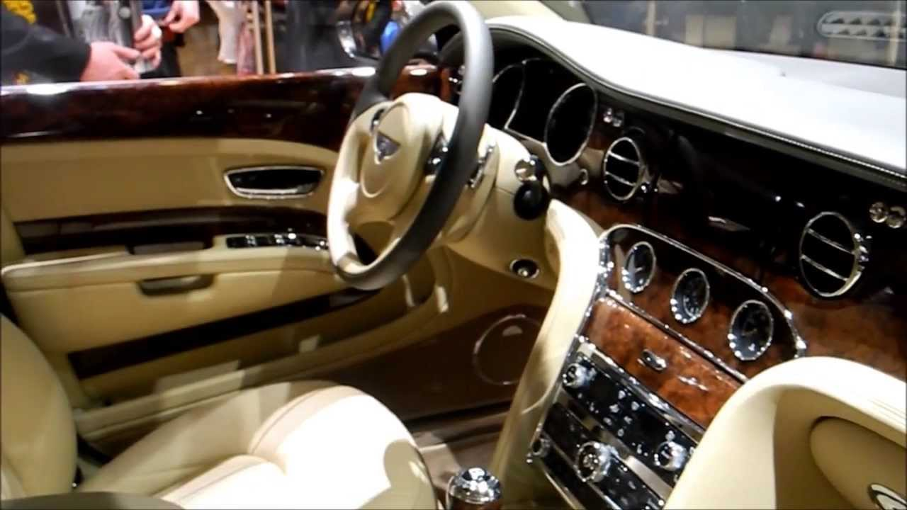 bentley mulsanne inside outside limousine luxe v8 6 75 l geneva motor show hd youtube. Black Bedroom Furniture Sets. Home Design Ideas