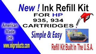 Ink Refill Kit With HP 935, 93…