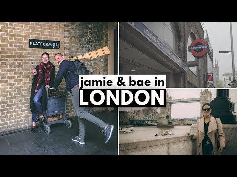 JAMIE AND BAE GO TO LONDON vlog