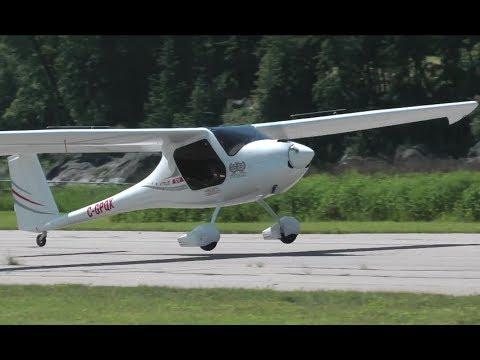 Pipistrel Virus SW Landing & Cessna 182 Skylane Takeoff