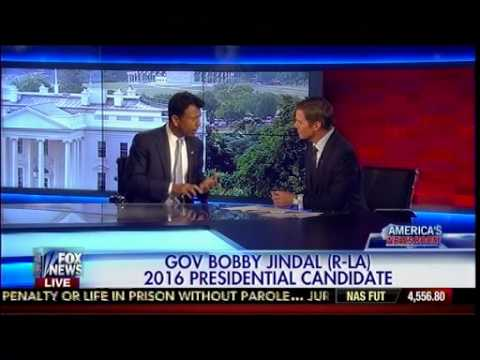 Gov Bobby Jindal (R-LA) 2016 Presidential Candidate - On America
