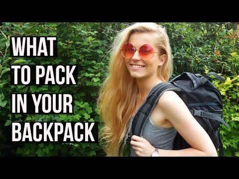 What to Pack in your Backpack for Travelling | Ellesse