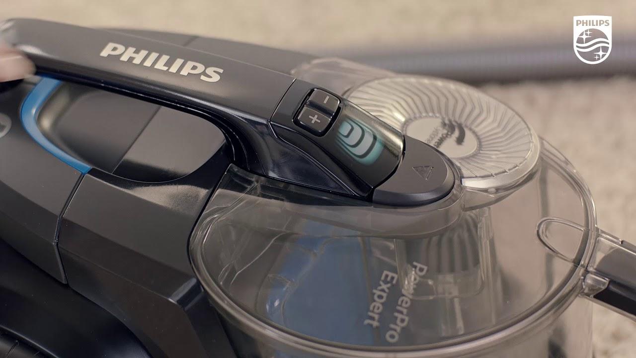Odkurzacz bezworkowy Philips PowerPro Expert z klasą energetyczną A+