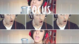 Ariana Grande - Focus - Christina Grimmie \u0026 Mike Tompkins - Acapella Cover