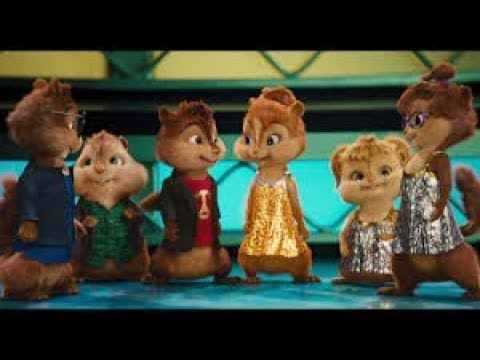Alvin e os Esquilos cantando Macarena