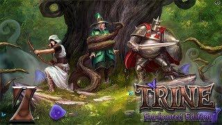 Trine: Enchanted edition прохождение на геймпаде часть 7 Подземелья и еще один здоровый скелет