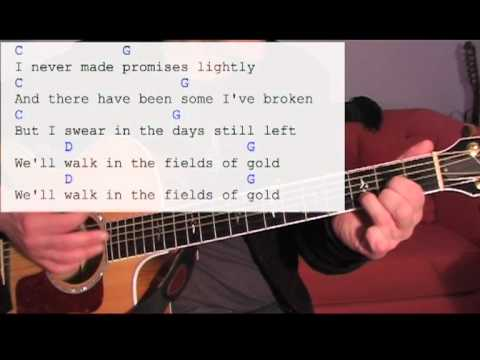 Fields Of Gold - Guitar Lesson Strumming Exercise